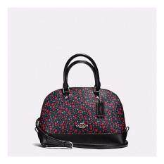 Coach F59443 Mini Sierra Satchel In Ranch Floral Print Coated Canvas