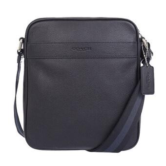 ต้องการขาย COACH FLIGHT BAG SMTH LTHR F54782 (Black)