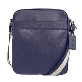 ลดราคา COACH FLIGHT BAG SMTH LTHR F54782 MID (Midnight Blue)