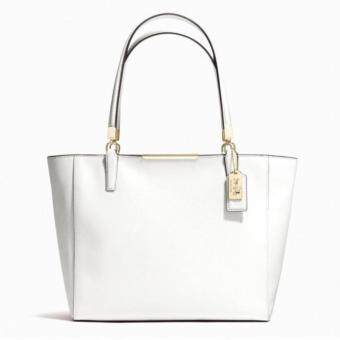 ต้องการขาย COACH MADISON E/W SAFFIANO LEATHER BAG 29002 White