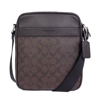 Coach กระเป๋า Men's shoulder bag diagonally cliff F54788 (Mahogany/Brown)