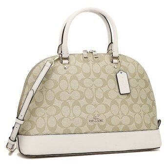 COACH SIERRA SATCHEL IN SIGNATURE (COACH F37233)