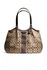 Coach Signature Shoulder Bag รุ่น 28623 - MAHOGANY