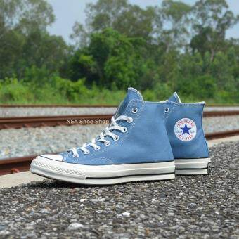 Converse All Star 70 hi (Vintage Color) Navy รุ่น 12100745PNA -สีฟ้า