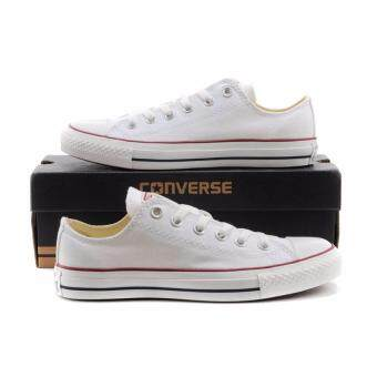 Converse Chuck Taylor Classic All Star (WHITE) Low+ (สีขาว)