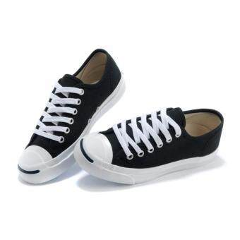 Harga Converse jack purcell cp ox (black)