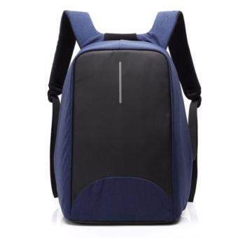 CoolBELL 15.6 Inch Laptop Bag With USB Port Charging Light-weight City Anti-theft Bag Knapsack Backpack Waterproof Rucksack สี BLUE