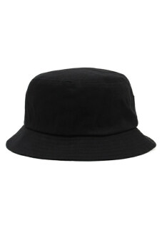 Cosplay Unisex Stussy Logo Embroidery Bucket Hat (Black)