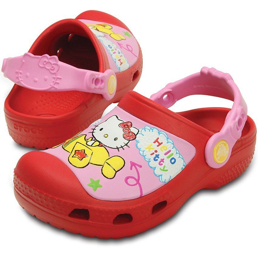 CROCS-CC Hello Kitty Plane Clog AS-Red-C10/11(US)