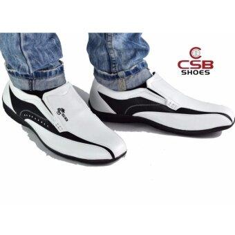 csb csb cm236 1502946151 8553446 9c5b8c283195ad24a33e58d924043559 product ที่ถูกที่สุด CSB รองเท้าคัทชูชาย CSB รุ่น CM236  สีขาวดำ