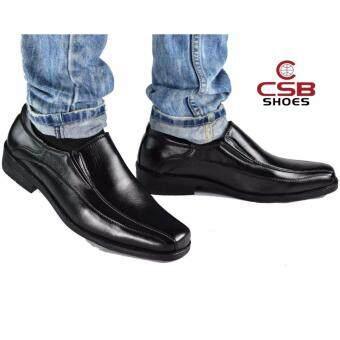 CSB รองเท้าคัทชูชาย CSB รุ่น CM500 (สีดำ)