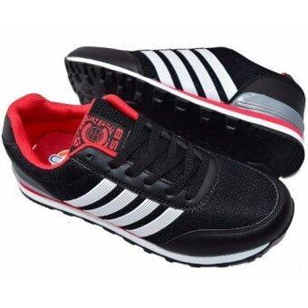 CSB รองเท้าผ้าใบผู้ชาย CSB รุ่น LN90060 (สีดำ) - 4
