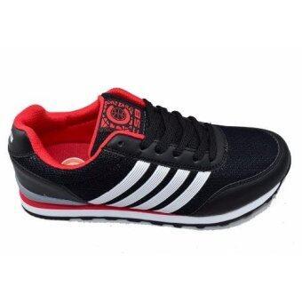 CSB รองเท้าผ้าใบผู้ชาย CSB รุ่น LN90060 (สีดำ) - 2