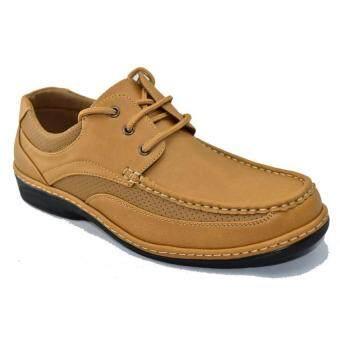 CSBรองเท้าหนังผู้ชาย CSB รุ่น CM323 (สีแทน)
