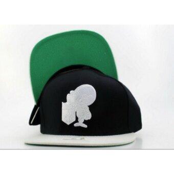 หมวกแก๊ป อัศวิน D ดำขาว