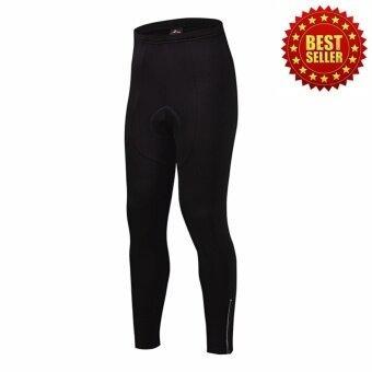 2561 กางเกงปั่นจักรยานขายาว กางเกงขี่จักรยานขายาว เป้าเจล Dream Sports (สีดำ)