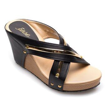Ease รองเท้าส้นเตารีด รุ่น 18-125 (Black)