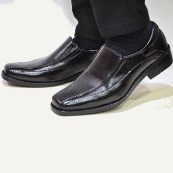 ESTHER รองเท้าผู้ชาย รองเท้าผู้ชาย รุ่น AL5627 - BLACK (สีดำ)