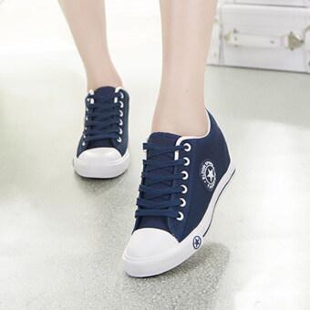 ESTHER รองเท้าผ้าใบผู้หญิง รุ่น CM164 (NAVY)