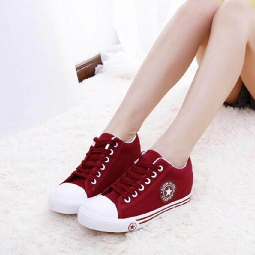 ESTHER รองเท้าผ้าใบแฟชั่นผู้หญิง รุ่น CM9107 - RED (สีแดง)