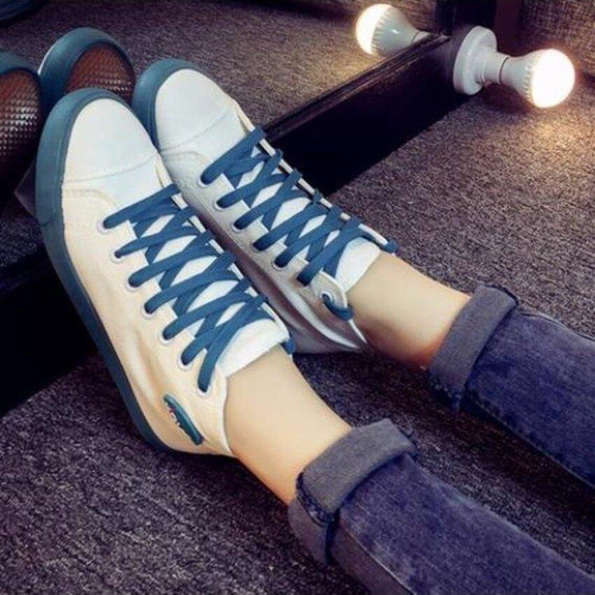ESTHER รองเท้าผ้าใบแฟชั่นผู้หญิง รุ่น CSM322 - WHITE (สีขาว)
