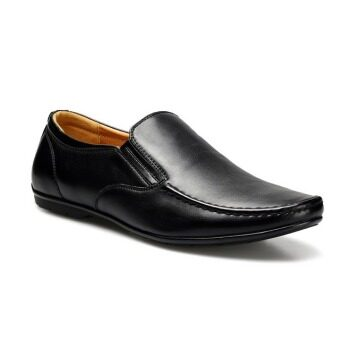 Fashion And Business Men's Loafers Shoes (Black) - intl