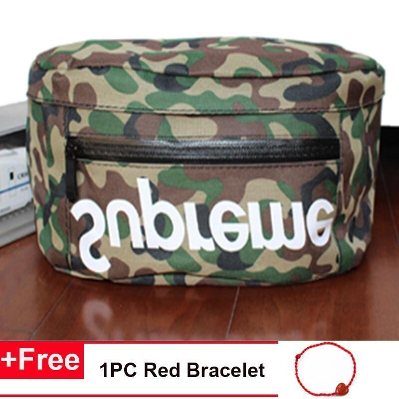 Fashion Supreme Chest Pack Boys Girls Canvas Shoulder Bag Messenger Bag - intl
