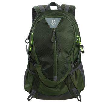 Fashion Waterproof Outdoor Sports Shoulder Bag Travel Backpack(Army Green)