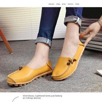 แฟชั่นสตรีรองเท้าผ้าใบรองเท้าขนาดใหญ่ Soft Multi-Way สวมสี