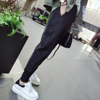 Female New Pants Slim Pants Pants Pants Haren All-match LooseKorean Students - intl