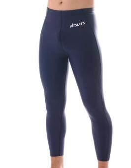 กางเกงรัดกล้ามเนื้อขายาว ชาย FITSUITS ORIGINAL FM-T001-05 สีกรมท่า กางเกงรัดกล้ามเนื้อ ชุดกีฬา วิ่ง โยคะ ฟิตเนส