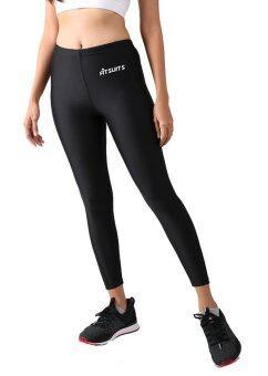 กางเกงรัดกล้ามเนื้อขายาว หญิง FITSUITS ORIGINAL FF-T001-01 สีดำ กางเกงรัดกล้ามเนื้อ ชุดกีฬา วิ่ง โยคะ ฟิตเนส