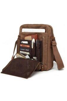กระเป๋าสะพายไหล่ รุ่นJA09 (สีน้ำตาล)