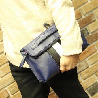 รีวิว กระเป๋าถือ แบบหนัง รุ่น JDA82BL (Blue)