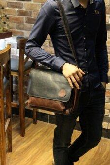 จัดโปรโมชั่น กระเป๋าสะพายข้างผู้ชาย รุ่น JDD02CO (Coffee)