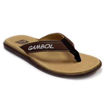 GAMBOL รองเท้าแตะ รุ่น GM11288 (สีครีม)