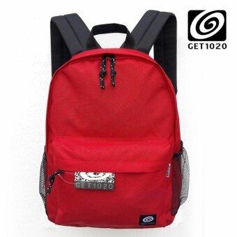 จัดโปรโมชั่น กระเป๋าเป้ กระเป๋าสะพาย แฟชั่น B0479 (แดงเลือดนก)