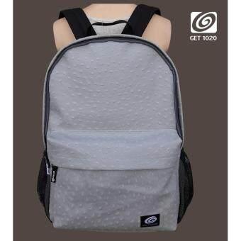 กระเป๋าเป้ กระเป๋าสะพาย แฟชั่น NR555animalpu (grey)