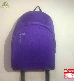 GP00050 กระเป๋านักเรียน Backpack Sports Bag Travel Bag(Purple)