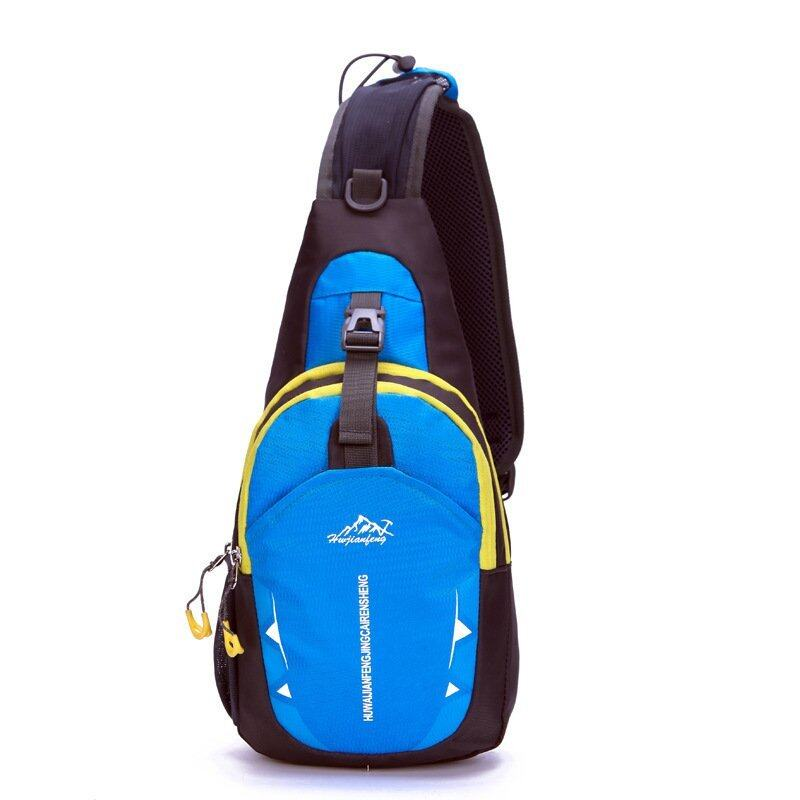Grandwish Wearproof มัลติฟังก์ชั่นกระเป๋าหน้าอกกระเป๋า (สีน้ำเงิน)