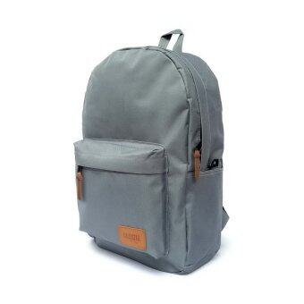 Gussila Backpack Bag กระเป๋าเป้สะพายหลัง รุ่น Thetis (สีเทา)