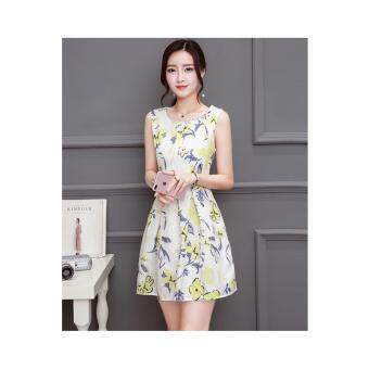 Harga hello hero Summer new Korean women Slim was thin dress