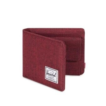 Herschel Supply Co Roy Coin Wallet (Winetasting Crosshatch)
