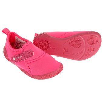 HewtierShop รองเท้ายิมนาสติกเด็กเล็ก ULTRALIGHT (สีชมพู)