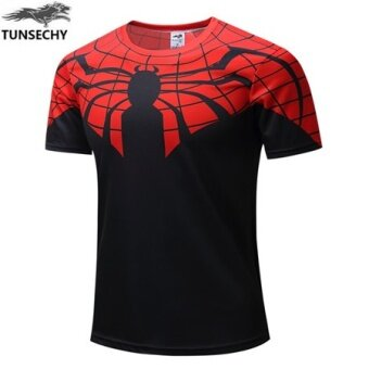 [High quality + low price + HOT] T shirt fitness men shirt men's Tshirt - intl