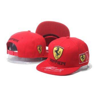 Hip Hop Snapback CapFerrari - สีแดง