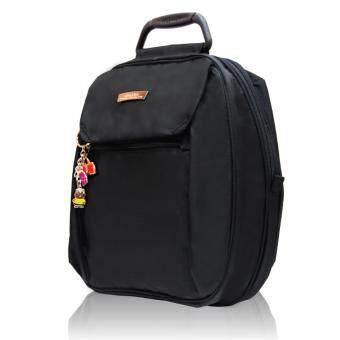 Huskiesbags กระเป๋าเป้แฟชั่นฮัสกี้ส์ รุ่น HK02-671 BL สีดำ - 2