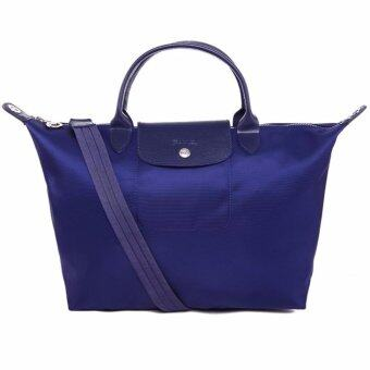 Harga Longchamp Women's Le Pliage Neo Handbag, Navy,100% authentic guarantee - intl