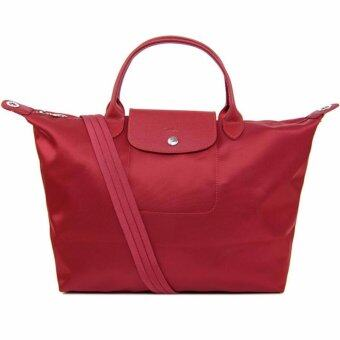 Harga Longchamp Women's Le Pliage Neo Handbag, Red,100% authentic guarantee - intl
