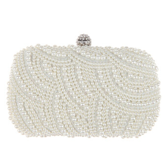 Harga Handmade Beaded Pearl Evening Bag